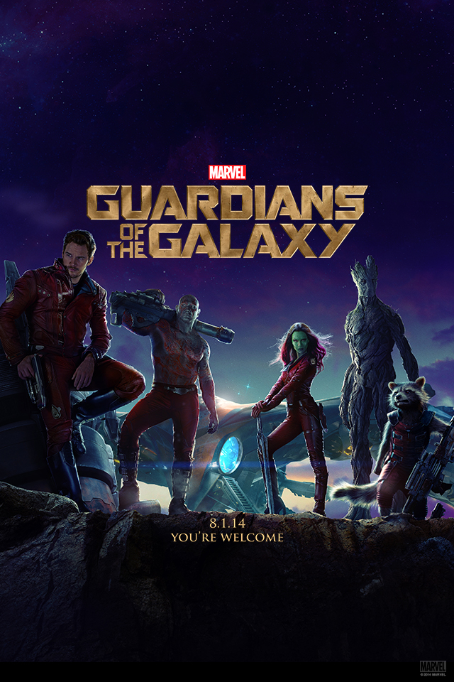 guardians of the galaxy, marvel studios, movie poster