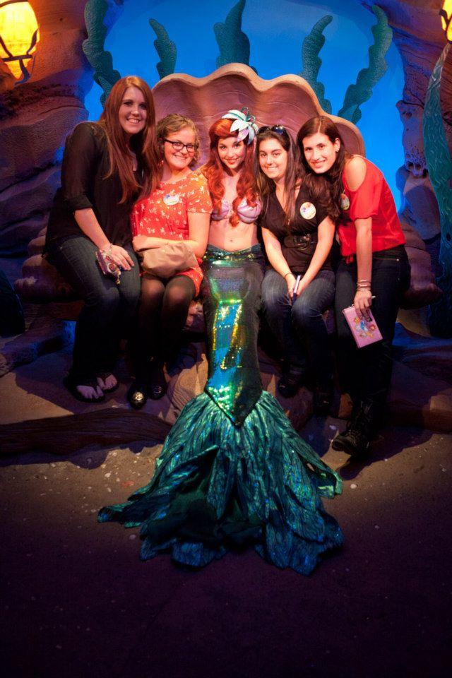 The Little Mermaid, Ariel, Disney character meet and greet, mermaid, Walt Disney World, Disney Princess