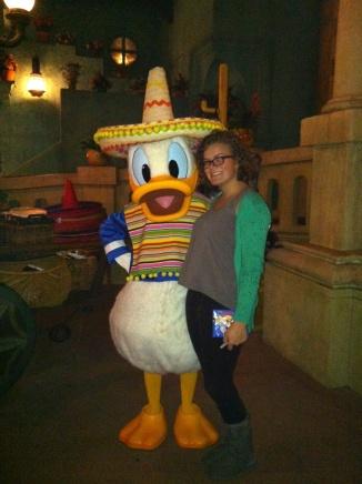 Walt Disney World, Donald, Mexico, EPCOT, World Showcase, Mexico Pavilion, Fiesta Donald