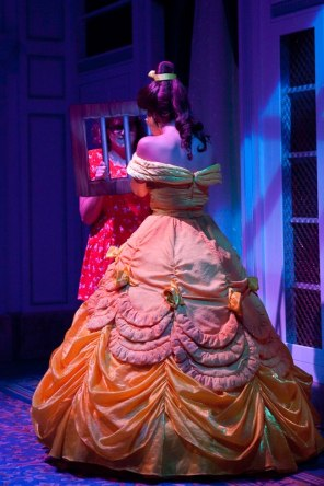 enchanted tales with belle, new fantasyland, disney side, disney cast member, disney college program