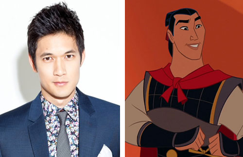 Mulan, mulan movie, mulan stunt casting, harry shum jr, shang