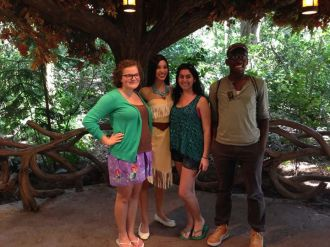 Pocahontas, disney princess, walt disney world, disney's animal kingdom, camp minnie mickey