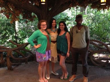 Pocahontas, disney princess, walt disney world, disney's animal kingdom, camp minnie mickey