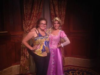 tangled, walt disney world, magic kingdom, princess fairytale hall, rapunzel, disney princess
