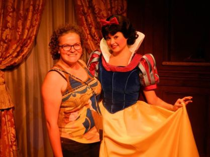 snow white, princess fairytale hall, disney princess, magic kingdom, walt disney world