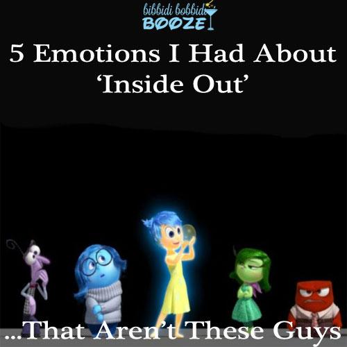 Pixar, Disney, Inside Out