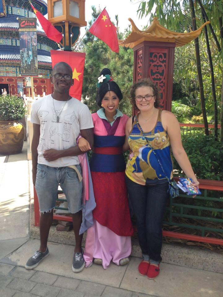Meeting Mulan At EPCOT's China