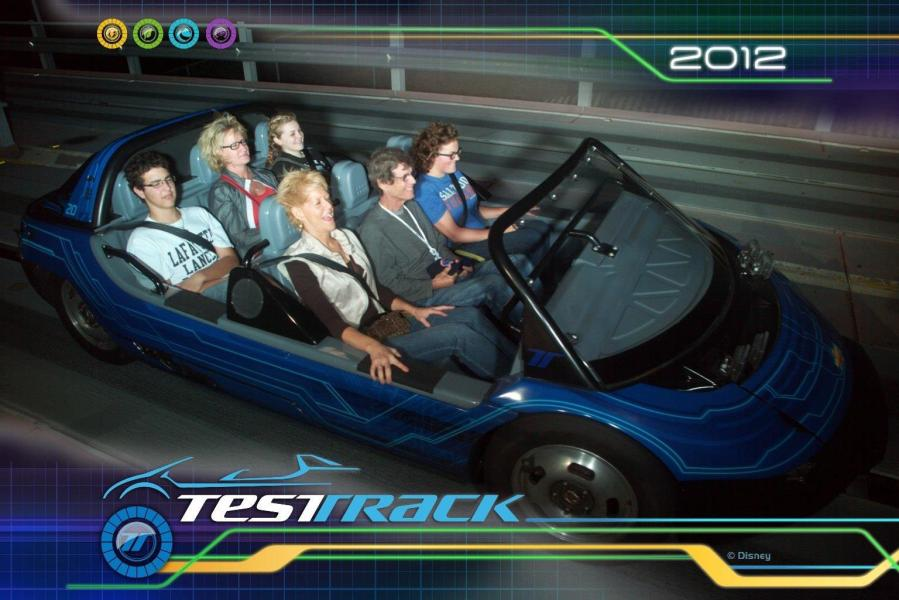 EPCOT, Walt Disney World, Disney's EPCOT, Test Track, Disney Ride Photos